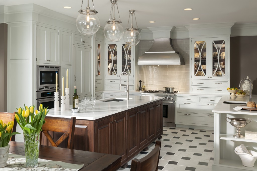 The Dinner Party Beautiful Traditional Kitchen Showcase Kitchens And Baths
